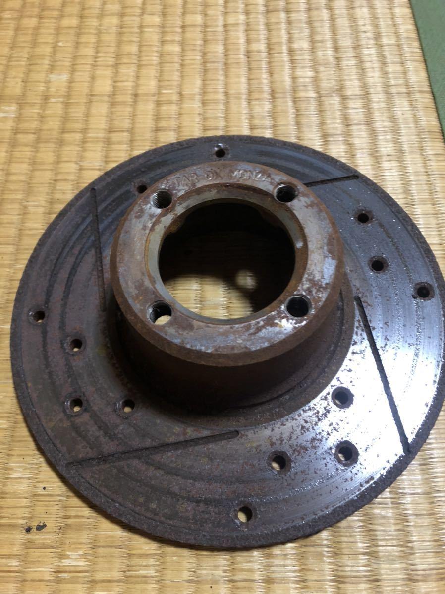 ローバーミニ 用 12インチ ドリルドスロットローター左右セット_画像5