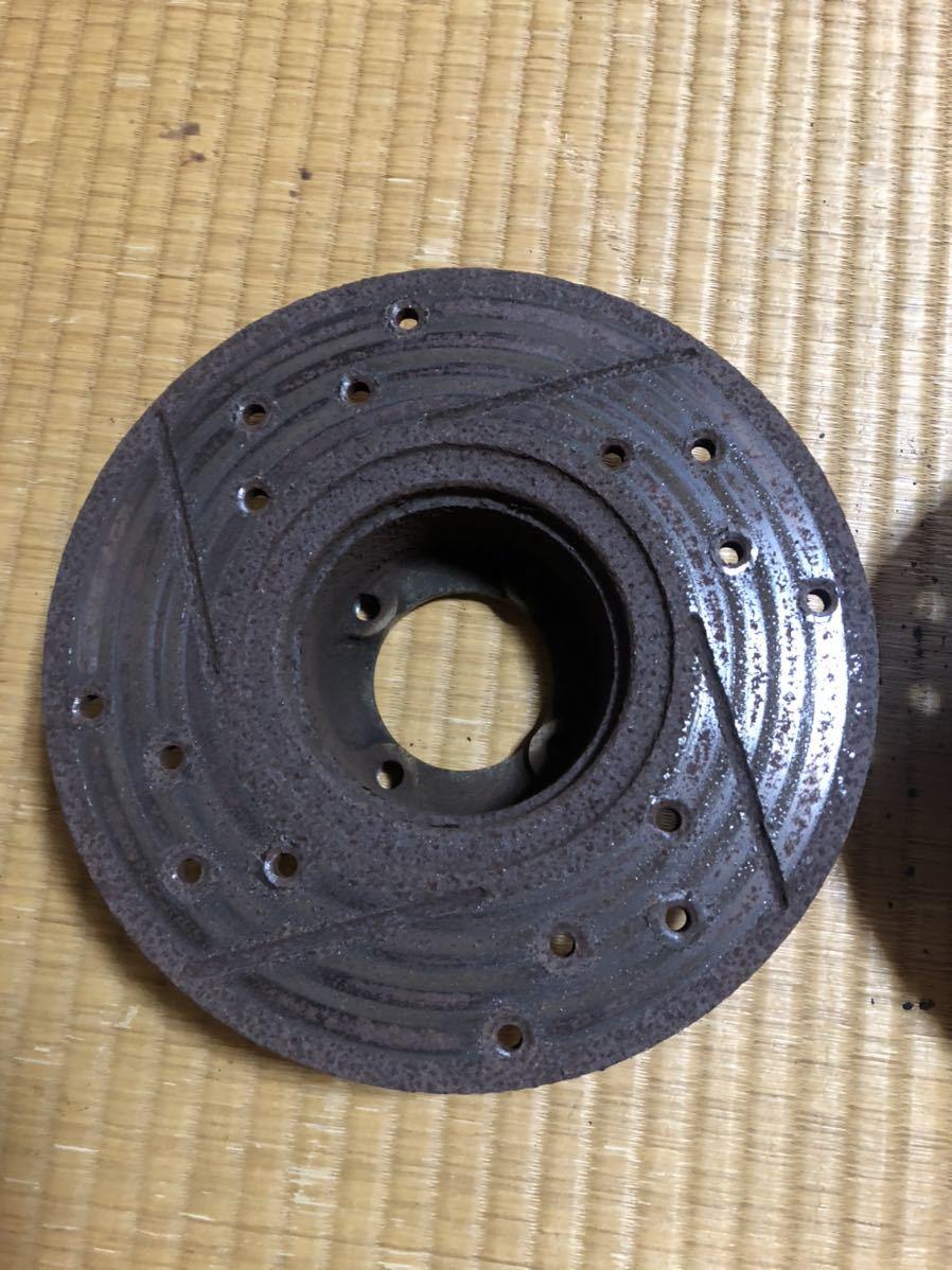 ローバーミニ 用 12インチ ドリルドスロットローター左右セット_画像8