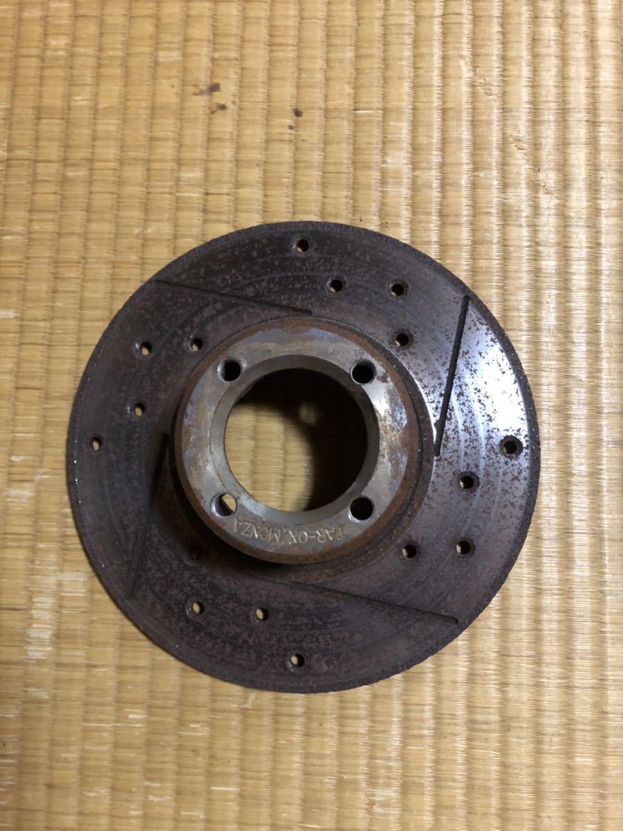 ローバーミニ 用 12インチ ドリルドスロットローター左右セット_画像2