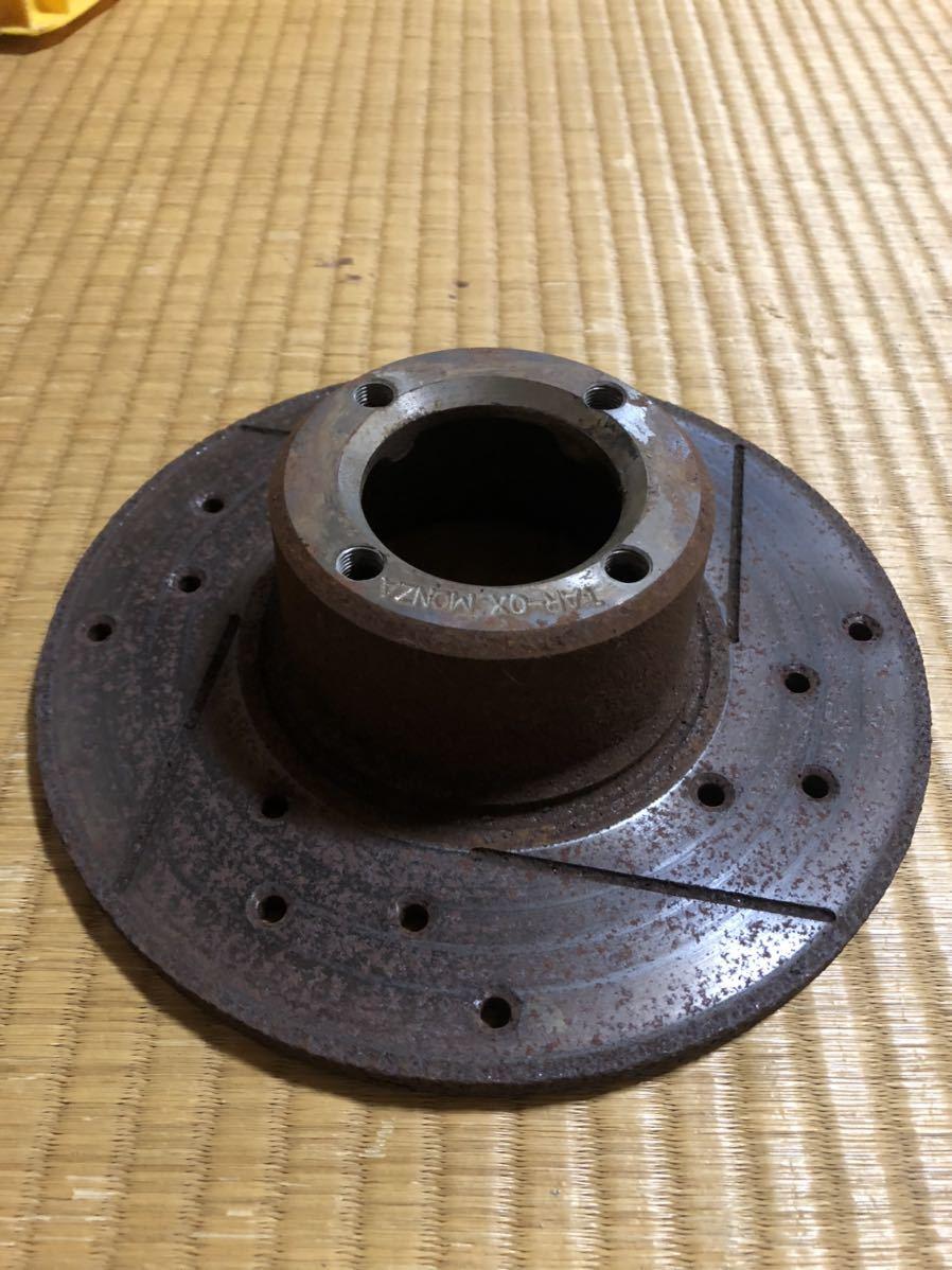 ローバーミニ 用 12インチ ドリルドスロットローター左右セット_画像4