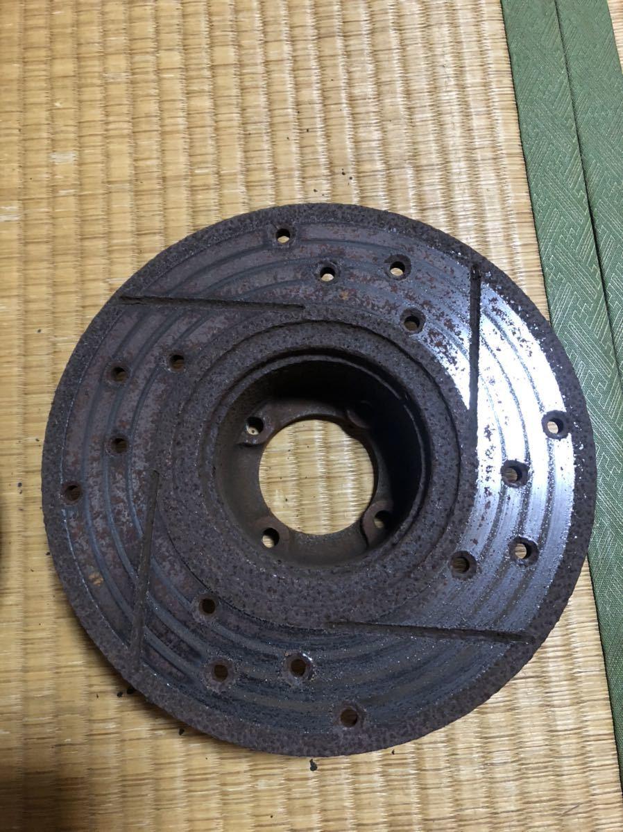 ローバーミニ 用 12インチ ドリルドスロットローター左右セット_画像9