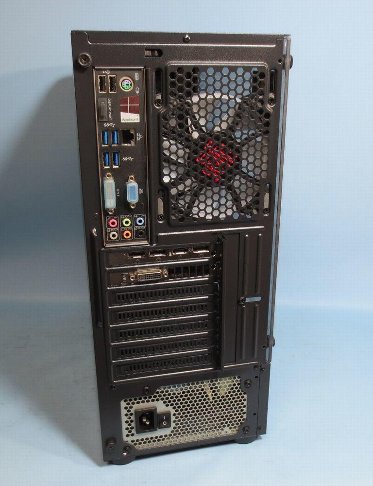 キラキラ ゲーミング PC ダブルディスク (Core i7 4790 3.60GHz GTX960 16GB 新品ケース 新品SSD256GB+2TB )Windows10_画像8