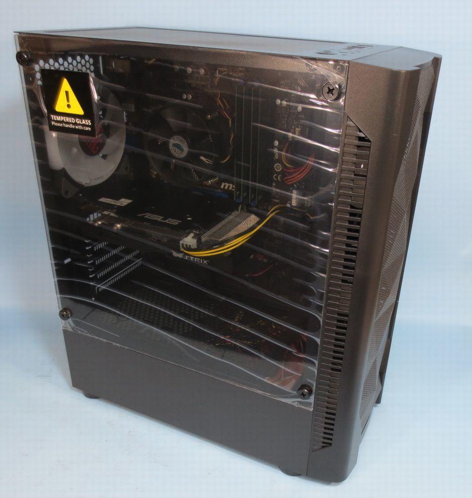キラキラ ゲーミング PC ダブルディスク (Core i7 4790 3.60GHz GTX960 16GB 新品ケース 新品SSD256GB+2TB )Windows10_強化ガラスでカバーが付いたままお届け