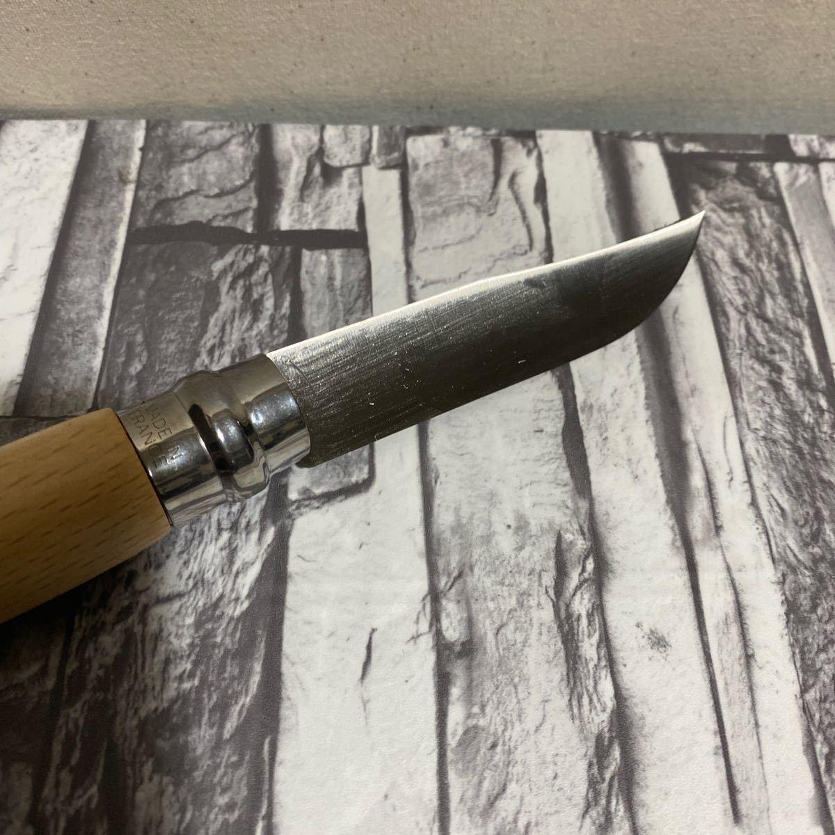 オピネル ステンレス9  折りたたみナイフ 新品