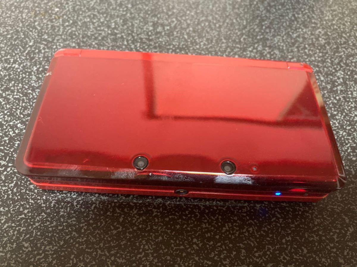 Nintendo Nintendo 3DS フレアレッド 充電器付き
