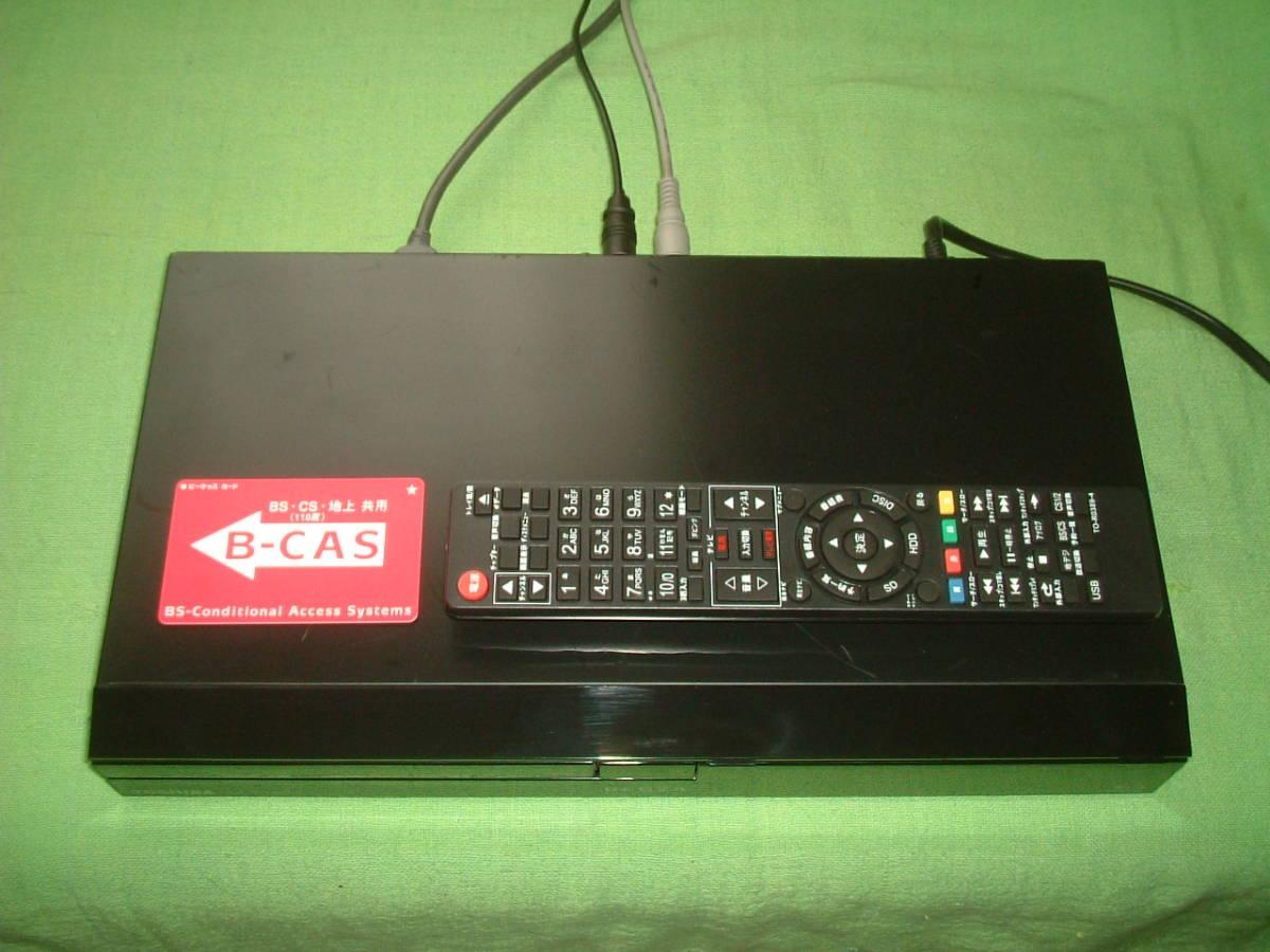 1ヶ月保証 東芝レグザ DBR-C100  HDD/DVD/ ブルーレイ/レコーダー   新品リモコン B-CASカード付き_画像2