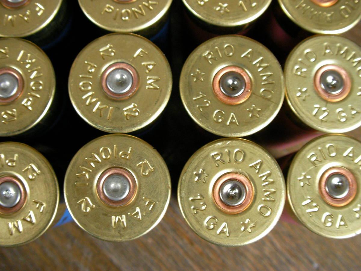 [個人] RIO & FAM  空薬莢 ショットガン ダミーカート 25本セット M870 M1 M3 M4 M24 M700 M40 VSR L96 98K M37 SDV APS _画像5