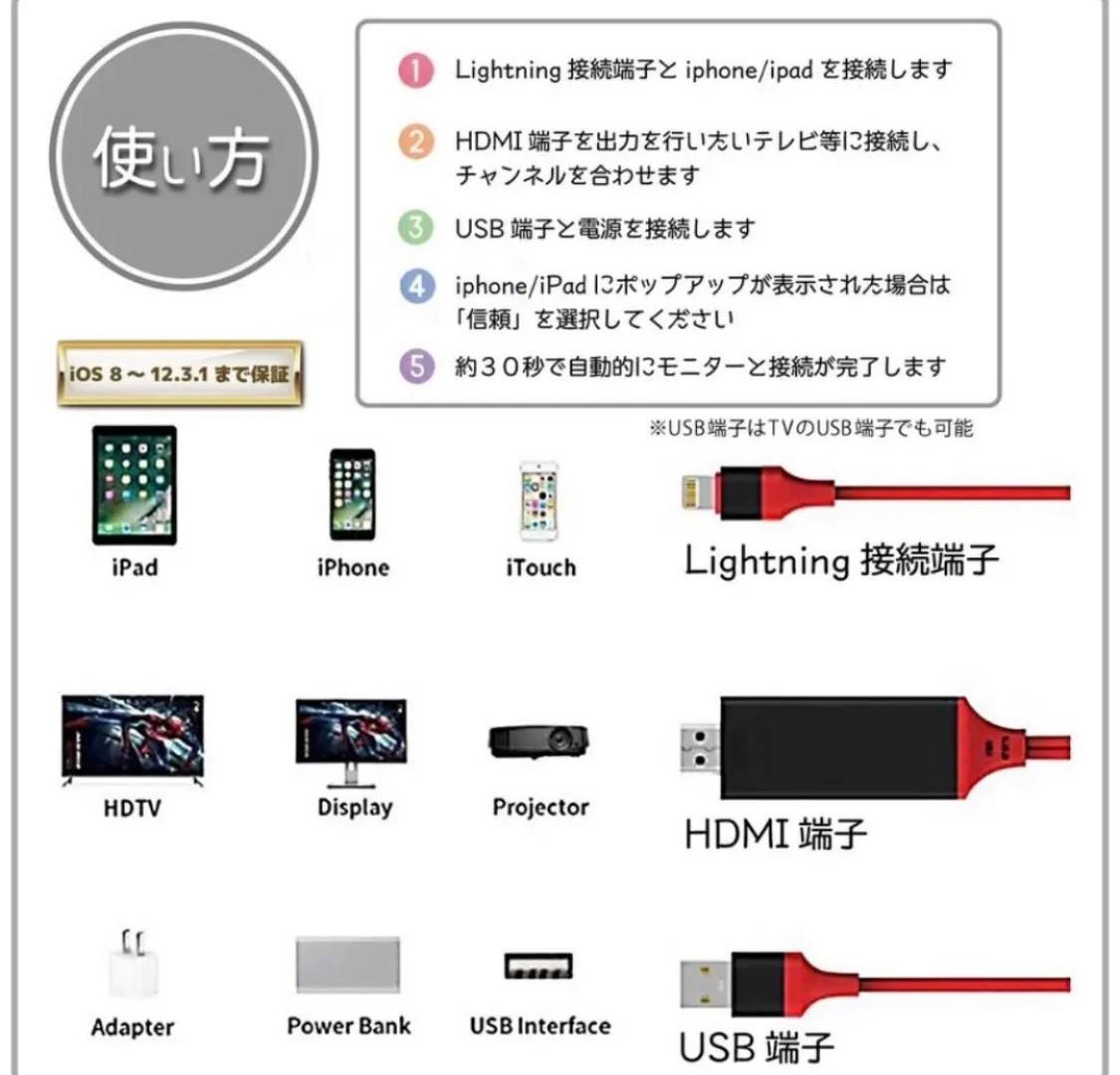 急速充電 Lightning ライトニングケーブル iPhone iP