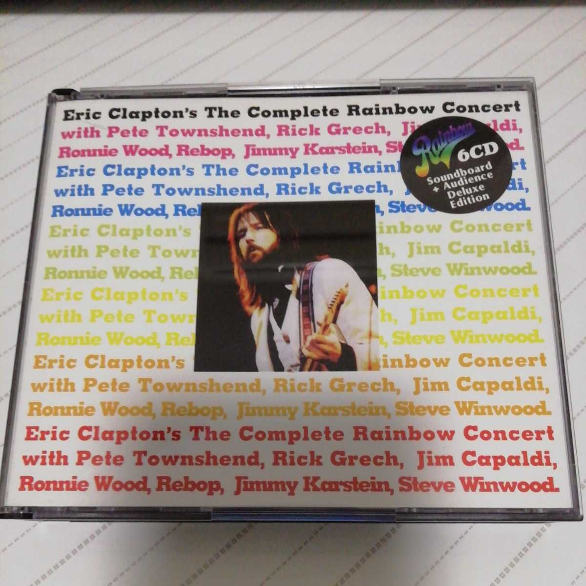 THE COMPLETE RAINBOW CONCERT(6CD) DELUXE EDITION ERIC CLAPTON エリック・クラプトン