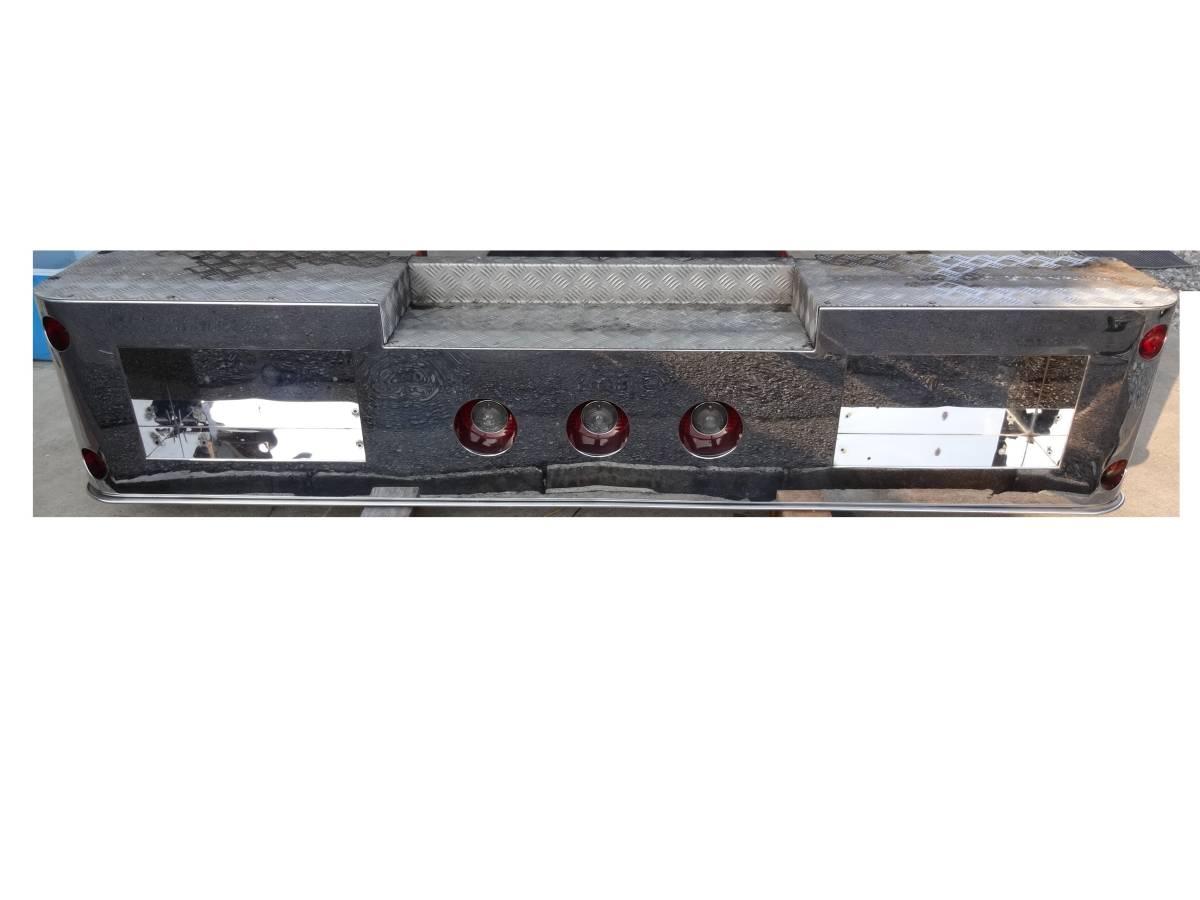 prompt decision 4 ton stainless steel rear bumper deco truck retro art truck