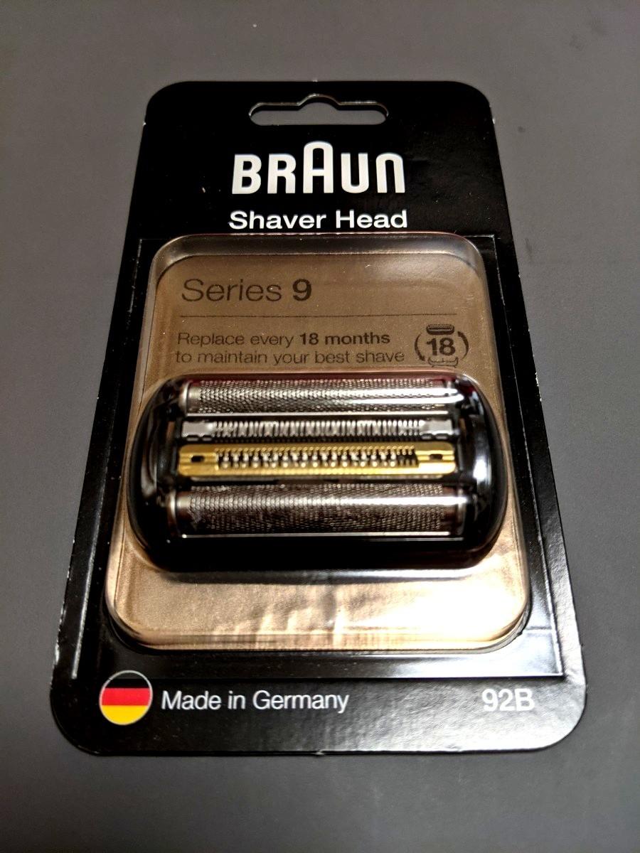 BRAUN Series9 ブラウン シリーズ9 シェーバー替刃 92B 新品未開封