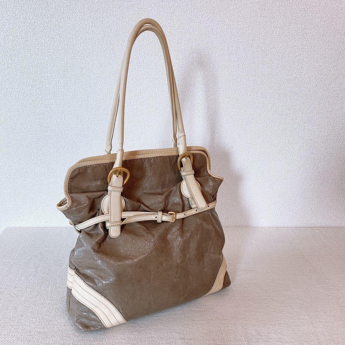 ショルダーバッグ イタリア製 高級革ブランド ジャマイカ JAMAICA BAG ベージュ グレー ハンドバッグ トートバッグ