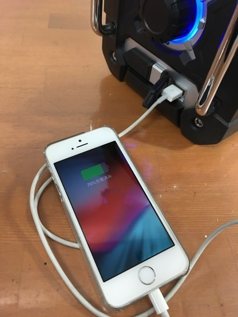 【電動工具】【値下げしました】マキタ Bluetooth搭載 充電式ラジオ MR108B バッテリ・充電器別売 [カラー:黒] 美品 動作確認済_画像4