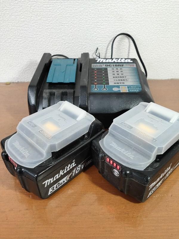 【電動工具】マキタ インパクトドライバ (バッテリー・充電器・ケース付) ブラック TD149DRFXB(TD149D) 軸ブレ、モータ異音無 動作確認済_画像5