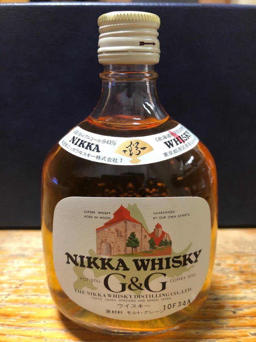 ニッカウイスキーG&G北海道地区限定発売容量180ml