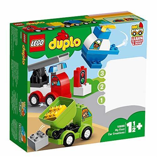レゴ(LEGO) デュプロ はじめてのデュプロ いろいろのりものボックス 10886 知育玩具 ブロック おもちゃ 男の子 車_画像2