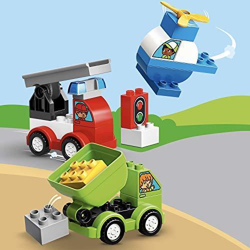 レゴ(LEGO) デュプロ はじめてのデュプロ いろいろのりものボックス 10886 知育玩具 ブロック おもちゃ 男の子 車_画像8