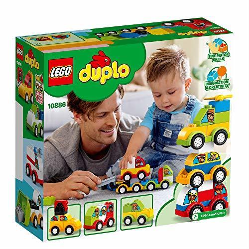 レゴ(LEGO) デュプロ はじめてのデュプロ いろいろのりものボックス 10886 知育玩具 ブロック おもちゃ 男の子 車_画像3