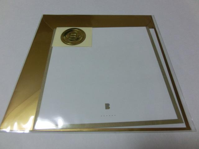 BiSH LETTERS レターセット 便箋1枚+封筒セット 新品_画像2