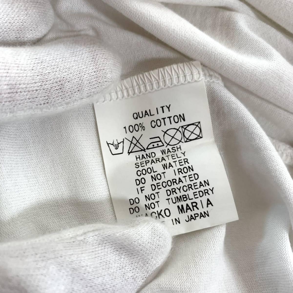 WACKO MARIA ワコマリア バックプリント Tシャツ ギルティーパーティー 舐達麻 c146_画像8