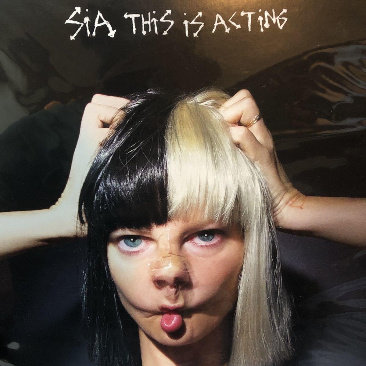 【極美品】SIA / This is Acting 2LP_画像1