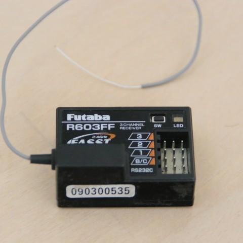 フタバ Futaba 受信機 R603FF
