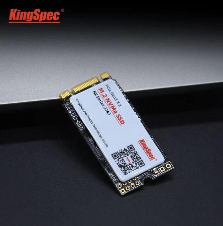 【新品】SSD KingSpec mSATA 256GB 新品未開封 3D NAND TLC 内蔵型 MT-256 デスクトップPC ノートパソコン_画像4