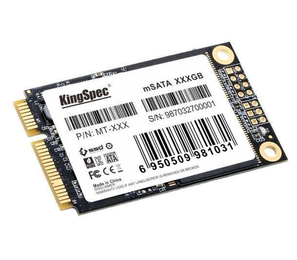 【新品】SSD KingSpec mSATA 256GB 新品未開封 3D NAND TLC 内蔵型 MT-256 デスクトップPC ノートパソコン_画像2