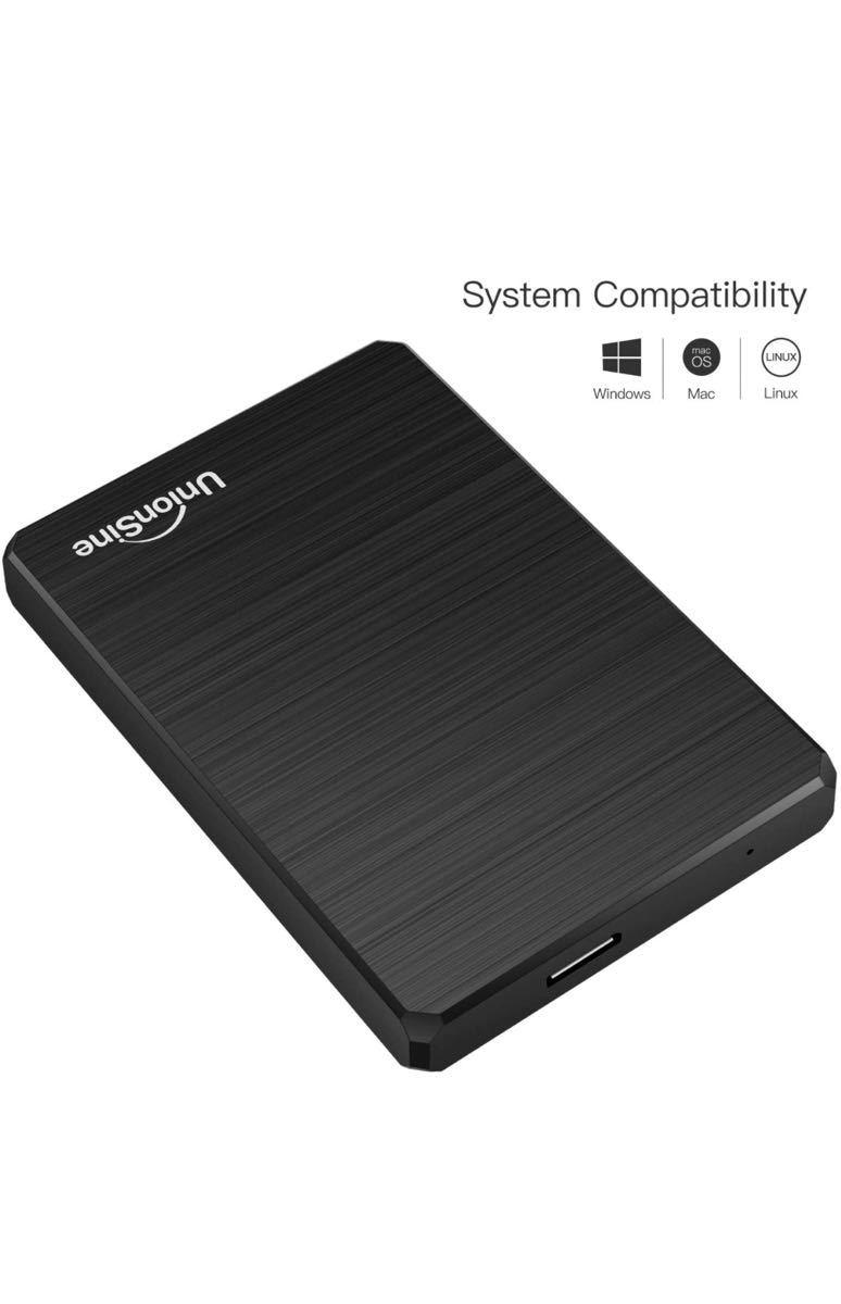 「特別セール」超薄型外付けHDD ポータブルハードディスク 500GB 2.5インチ USB3.0に対応