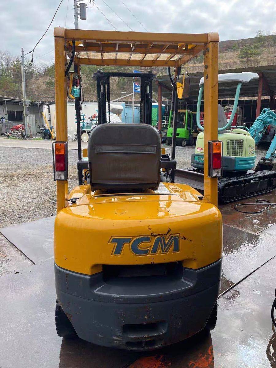 「TCM FG15N18 中古フォークリフト 動作確認 現状販売」の画像3