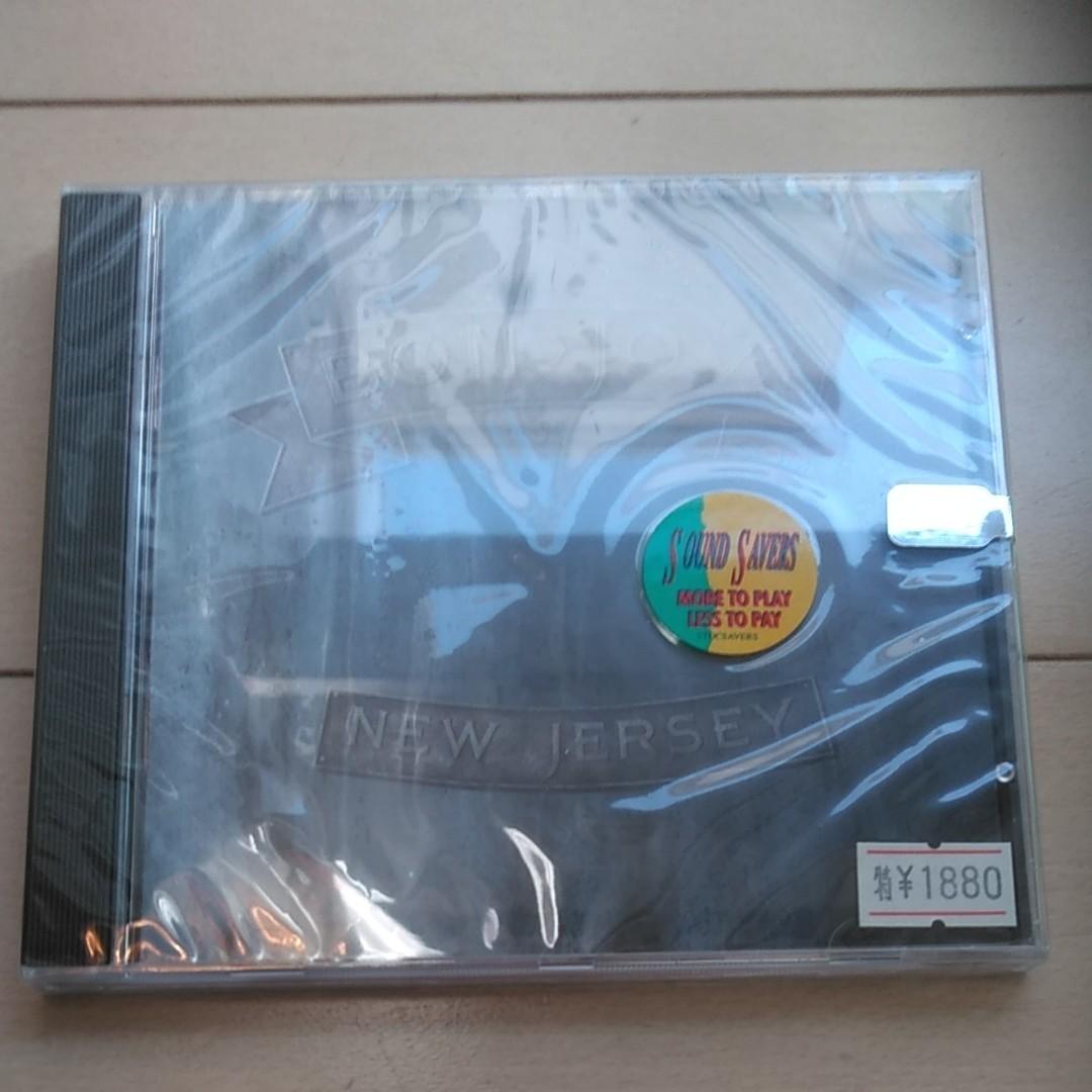 CD【BON JOVI】NEW JERSEY《新品未開封》
