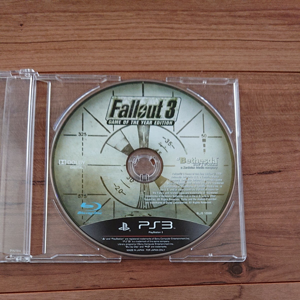 Fallout 3:Game of the Year Edition PS3