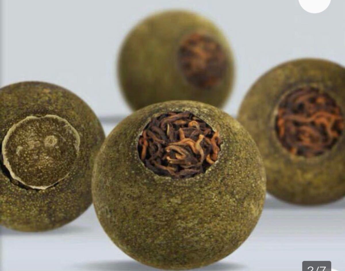 プーアール茶[小青柑プーアール茶]30個