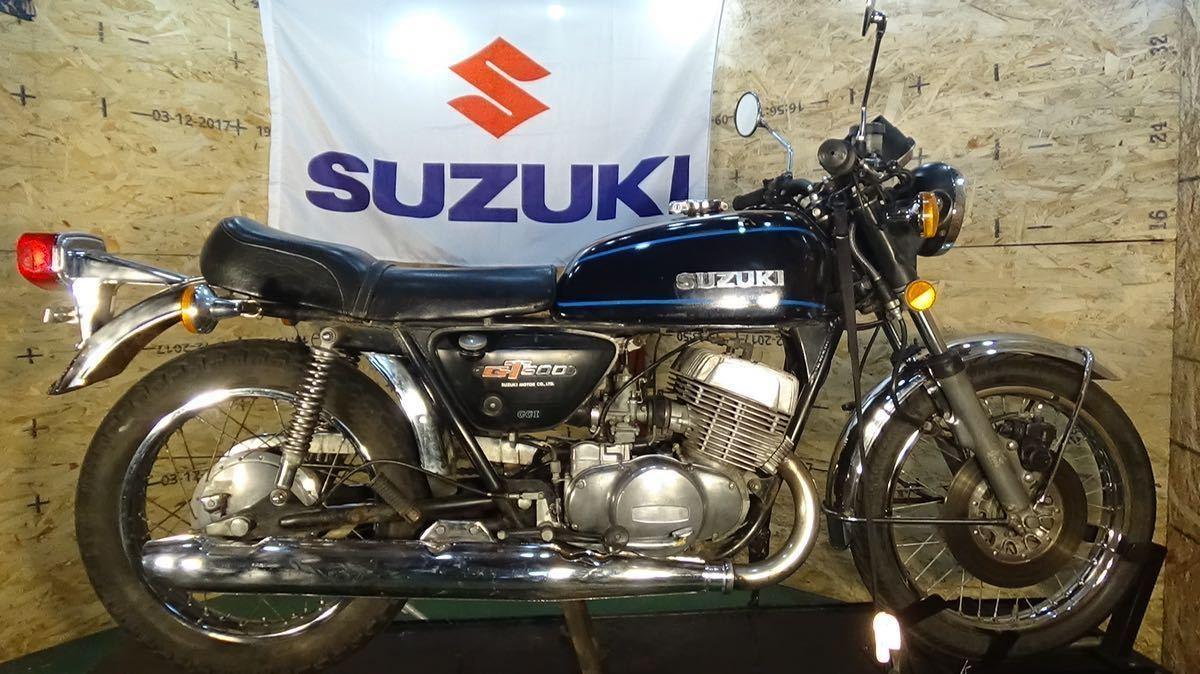 「【ローン可】SUZUKI GT500 昭和52年 1977年 旧車 GT380/GT550/GT750/T500 希少 スズキ」の画像1