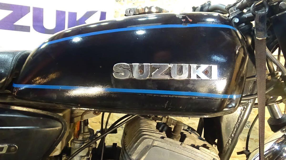 「【ローン可】SUZUKI GT500 昭和52年 1977年 旧車 GT380/GT550/GT750/T500 希少 スズキ」の画像2