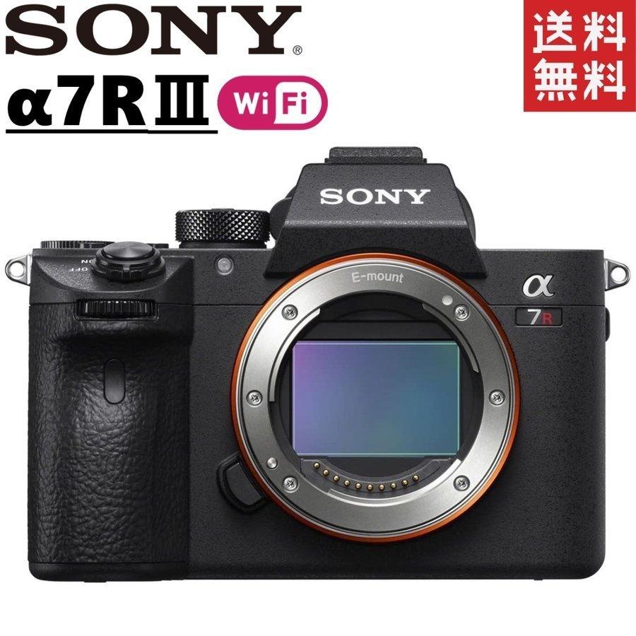 ソニー SONY α7RIII ILCE-7RM3 ボディ フルサイズ ミラーレス 一眼レフ カメラ レンズ 中古_画像1