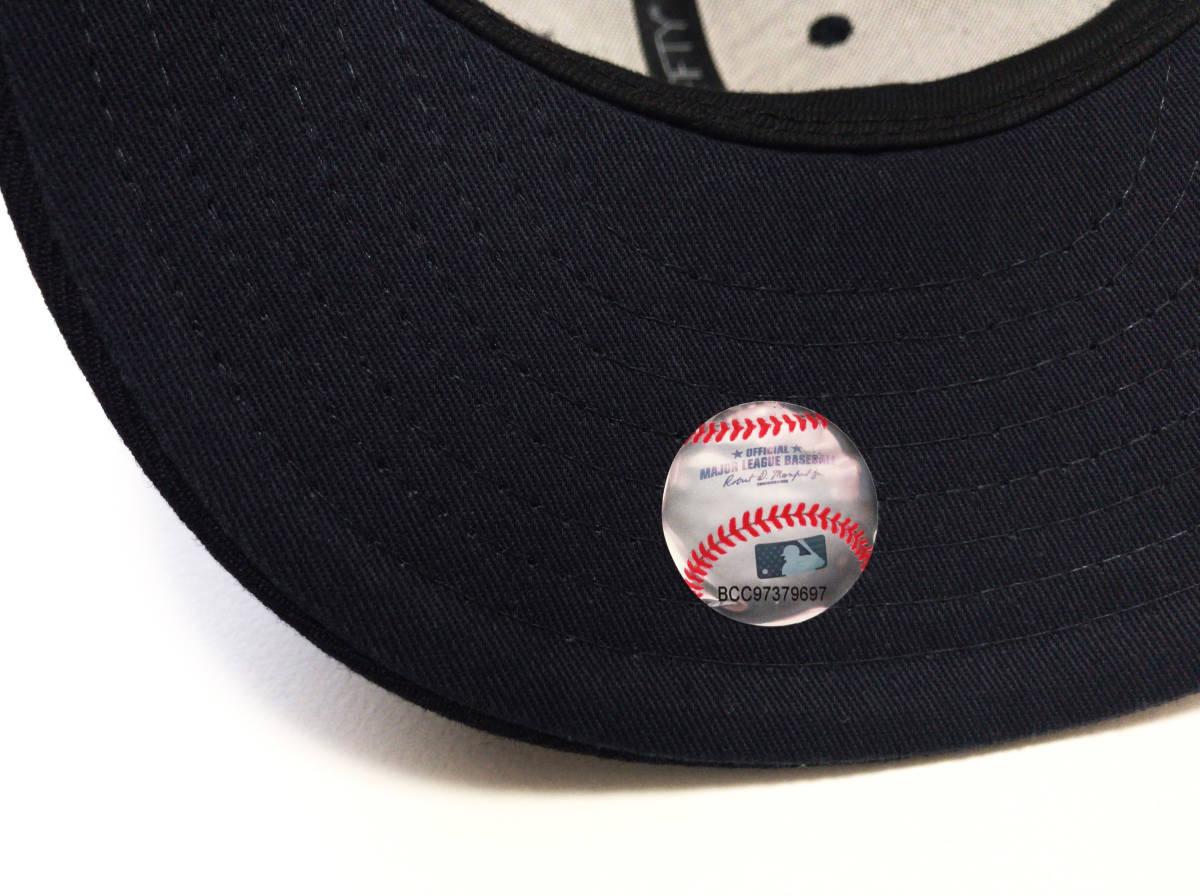 """【美品】ロンハーマン別注 RHC x New Era × MLB """" LAロゴ """" ベースボール キャップ 59.6cm NAVY / RonHerman ニューエラ _画像6"""