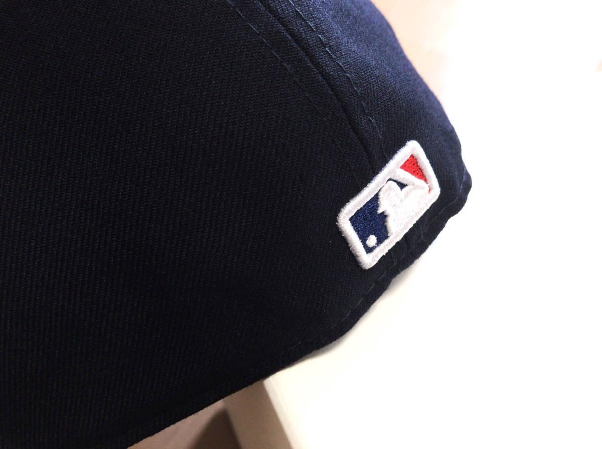 """【美品】ロンハーマン別注 RHC x New Era × MLB """" LAロゴ """" ベースボール キャップ 59.6cm NAVY / RonHerman ニューエラ _画像5"""