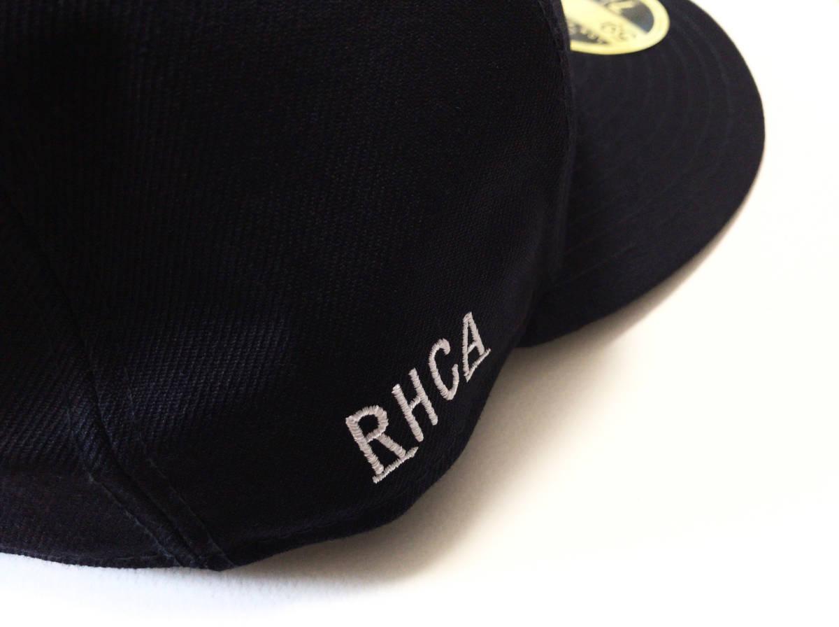"""【美品】ロンハーマン別注 RHC x New Era × MLB """" LAロゴ """" ベースボール キャップ 59.6cm NAVY / RonHerman ニューエラ _画像3"""