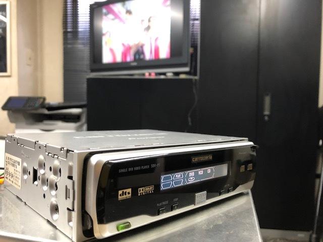パイオニア カロッツェリア SDV-P7 DVDプレーヤー 動作確認済 中古_画像3