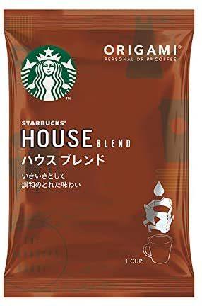 ▽★■ネスレ日本 スターバックス オリガミ パーソナルドリップ コーヒー ハウス ブレンド (9g×5袋)&time_画像2