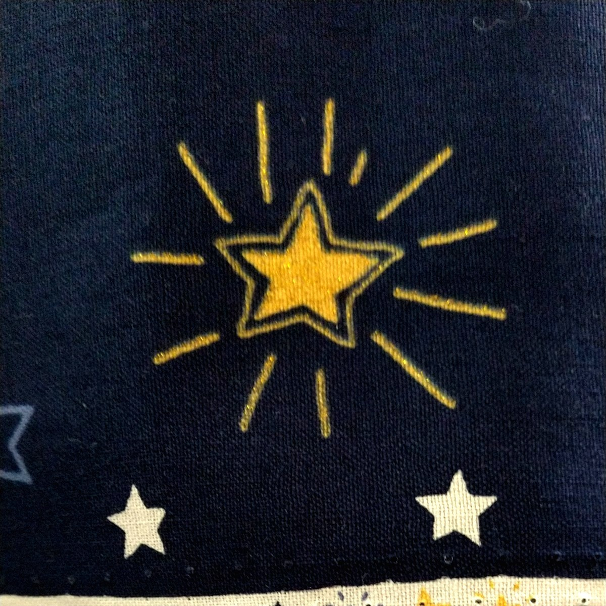 コスモテキスタイル 星 星 星 生地