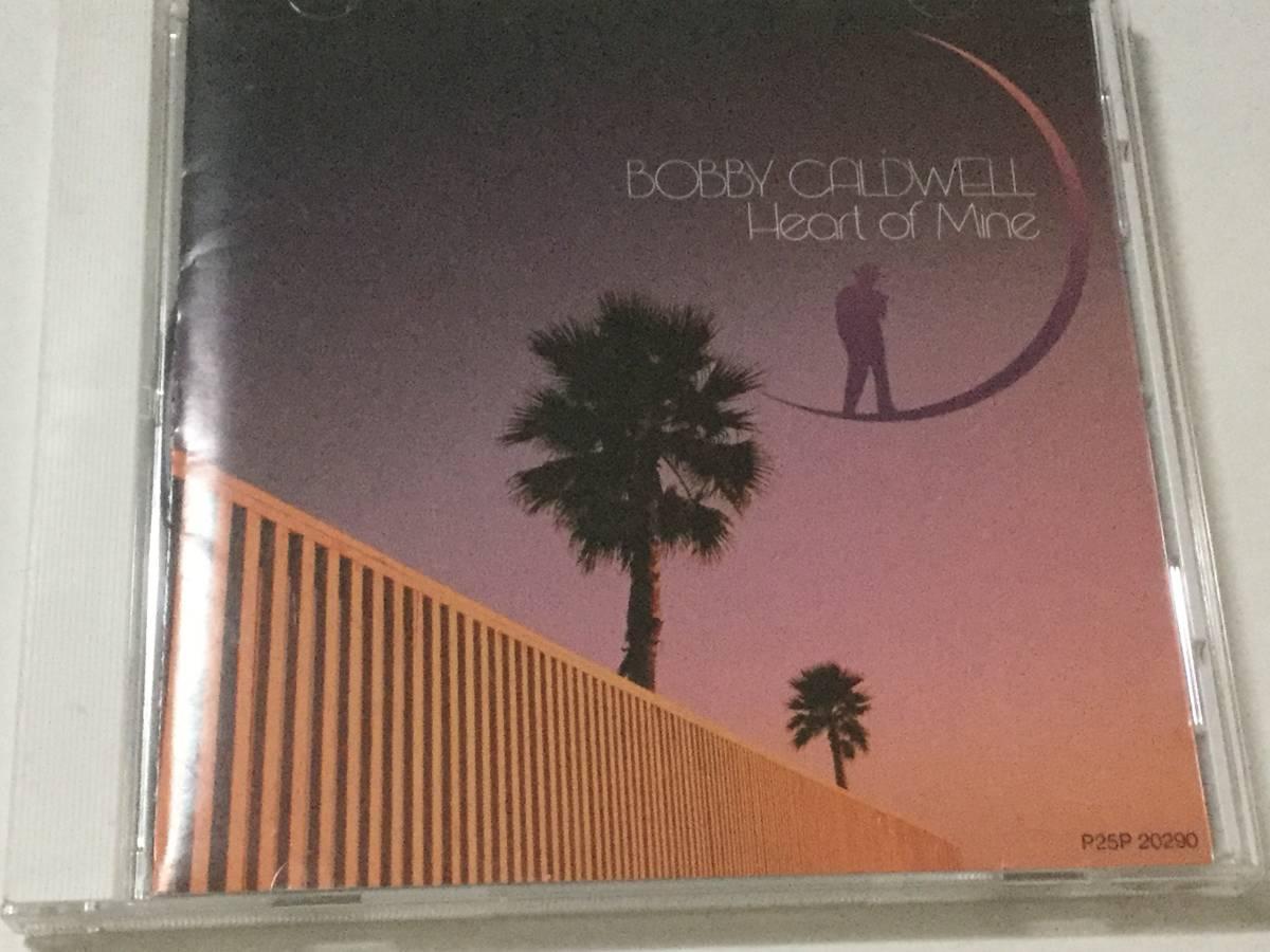 国内盤CD/AOR/ボビー・コールドウェル/ハート・オブ・マイン 送料\180 _画像1