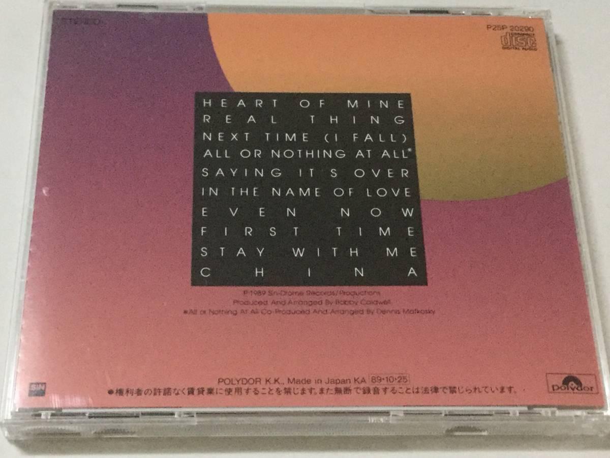 国内盤CD/AOR/ボビー・コールドウェル/ハート・オブ・マイン 送料\180 _画像2