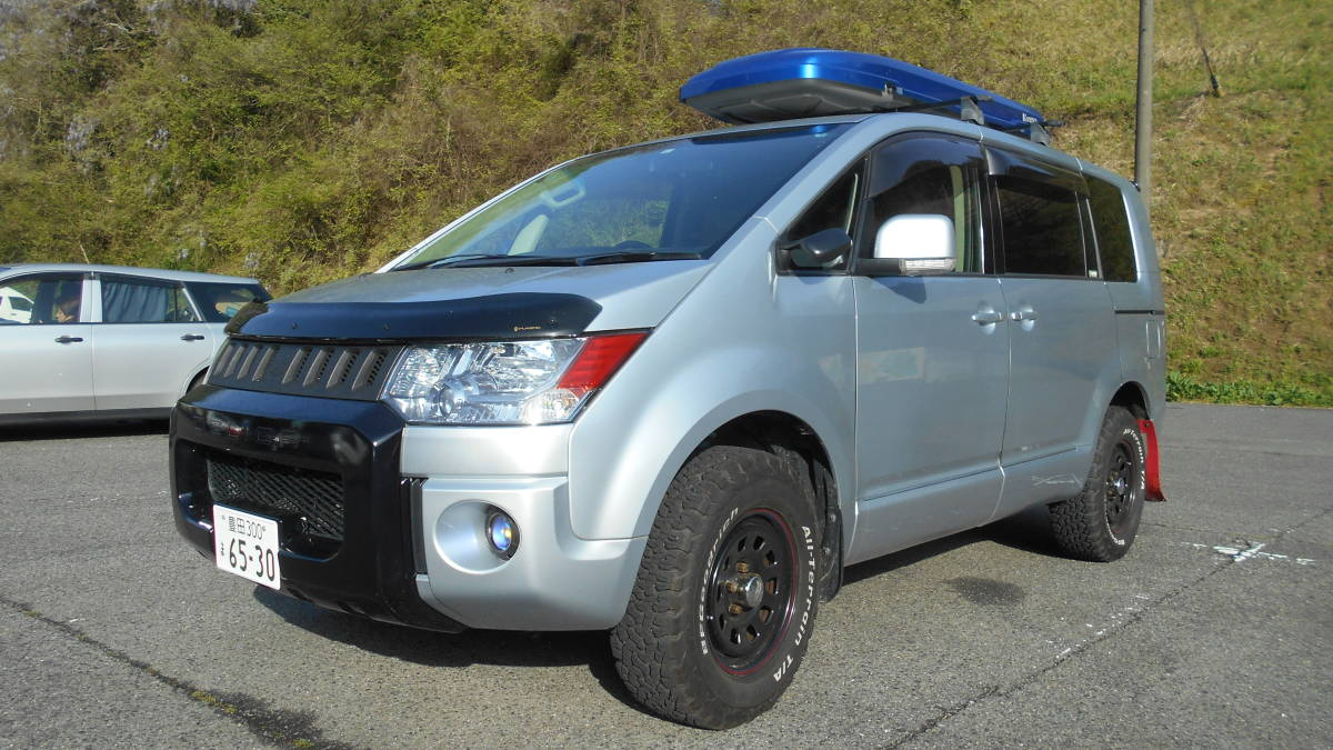 三菱 デリカD54WD 車検長い GW(キャンプ)間に合います! 乗って帰れます!