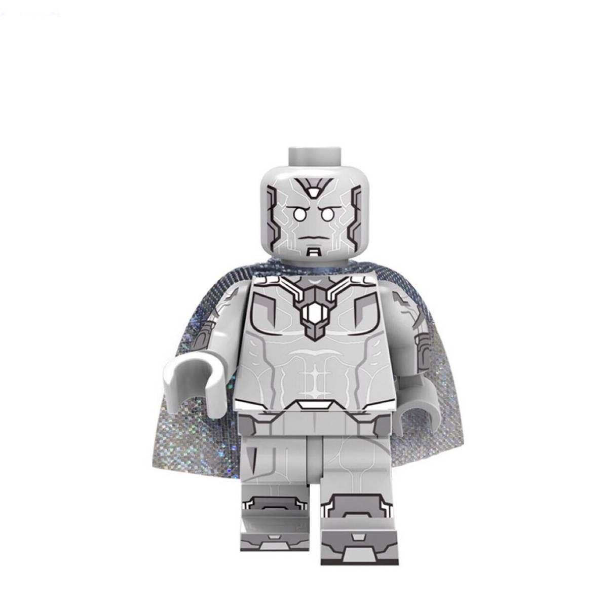 1体 幽魂ビジョン マーベル アベンジャーズ ミニフィグ LEGO 互換 ブロック ミニフィギュア レゴ 互換 e_画像1
