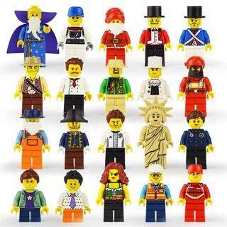 20体セット ミニフィグ LEGO 互換 ブロック ミニフィギュア レゴ 互換 q_画像1