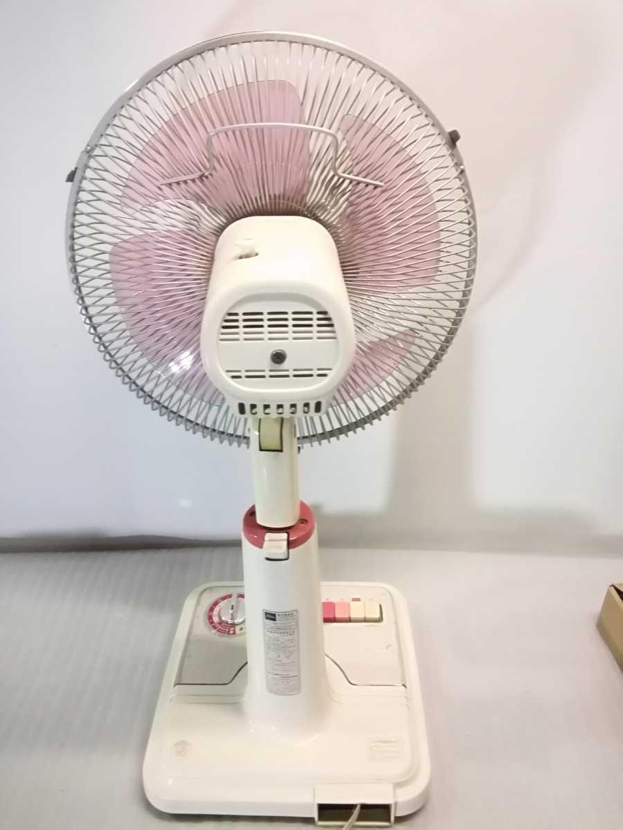 昭和レトロ◆東芝扇風機 F-223FR 30cm 3段切替え レトロ扇風機 「現状品」_画像8