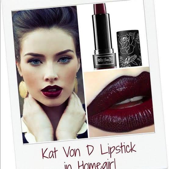 Kat Von D Homegirl Studded Kiss Crme Lipstick KVD リップスティック リップ 口紅