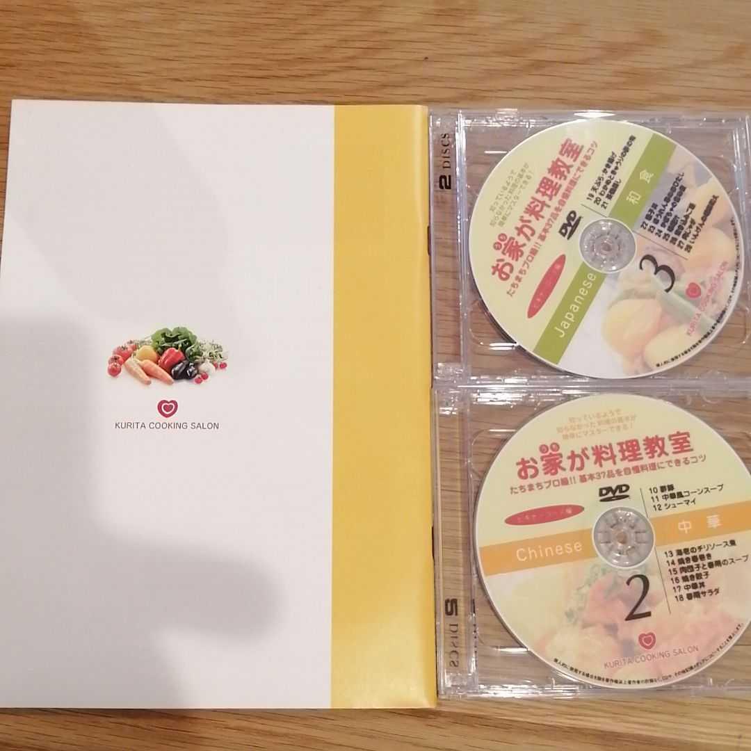お家が料理教室 ビギナーコース編 栗田登志子 DVD付き_画像2